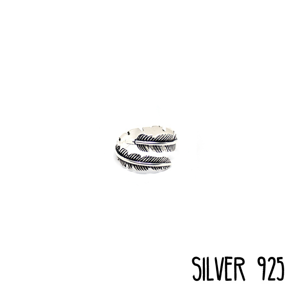 Ring Grote Veer Zilver 925
