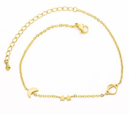 Gouden armbandje universe