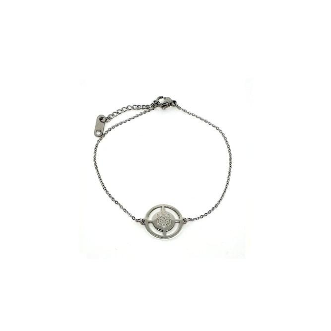 Armband Luipaard Hoofd Zilver