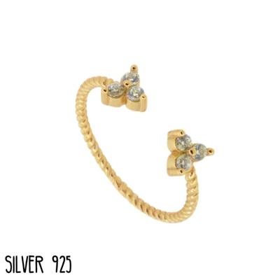 Gouden Ring Subtile Stones