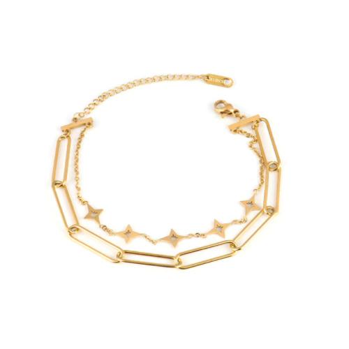 Gouden Armband Stars