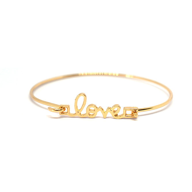 Bangle Love Gold