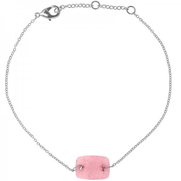 Armband Minimal Pink Zilver