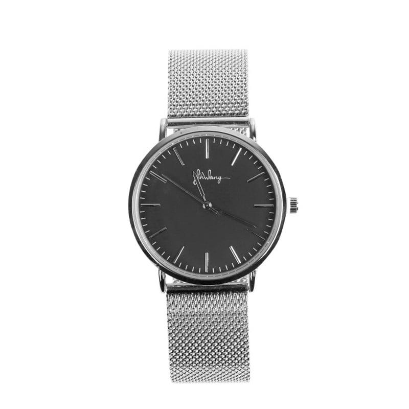Zilveren Horloge Minute