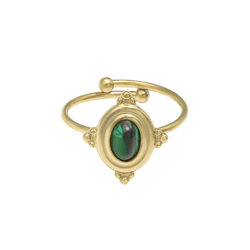 Ring Mystic Life Groen