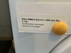 BEKO WMB 61632 A++ 1600rpm 6kg