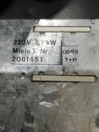 Verwarmingselement (droger) Miele Novotronic Mistral C