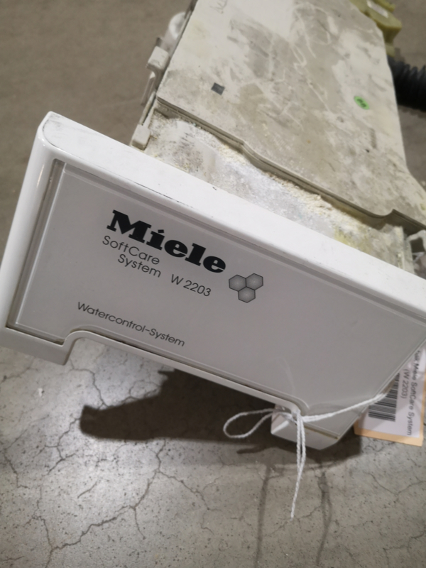 Zeepbak Miele SoftCare System