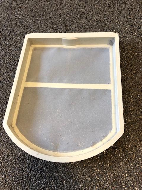 Filter (inzet deur droger) Miele T420C