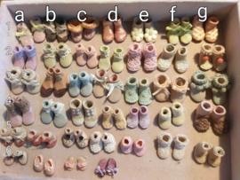 Schoentjes, maat XS en S