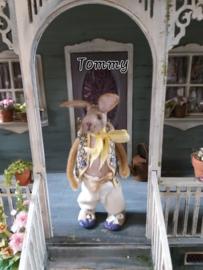 Ik ben Tommy Bunny, 13 cm. hoog!