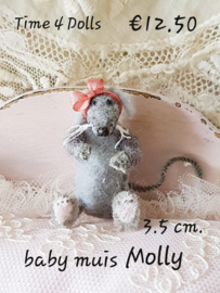 Do-it-yourself kit, Baby Mouse Molly (S - 3.5 cm)