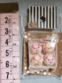 Kinder Piggy taartjes