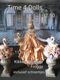 Fabienne Froggy Faberge (M - 11 cm.) including shoes