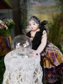 Fortune-teller Nora Gipsy lady, height 13 cm.