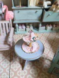 Marie Antoinette etageré roze