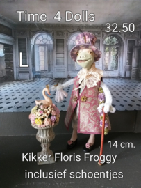Floris  Froggy Faberge (L - 14 cm.) including shoes