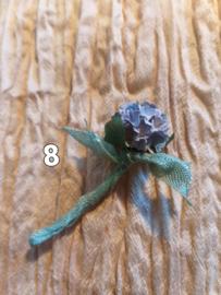 Hydrangea with Sea Green Ribbon