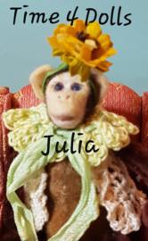 Doe-het-zelf kit Julia, het Aapje (M - 9 cm.)