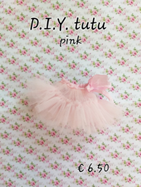 D.I.Y. or make your own package, Tutu - Pink