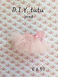 D.H.Z. of maak het zelf pakketje, Tutu - Pink