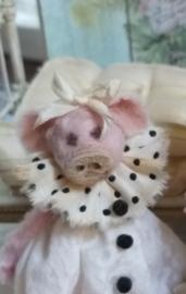 Ik ben Paris de Piggy, ik ben  8 cm.