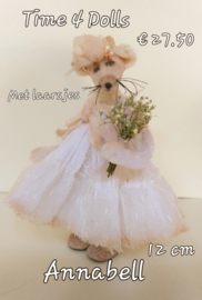 Annabelle, the Mouse (L - 12 cm.) including boots