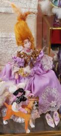 Marie Antoinette, hoog 13 cm.