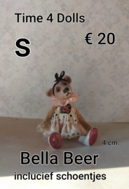 Do-it-yourself kit, Bella the baby Bear (S - 4 cm.) Including shoes