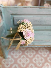 Bouquet with pink roses