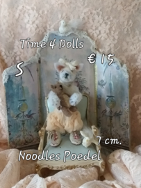 Noodles, the baby Poodle (S - 7,5 cm)