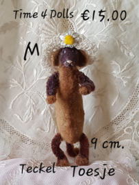 Toste, the Dachshund (M - 9 cm.)