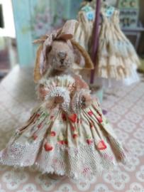 Aardbeien jurkje, maat S