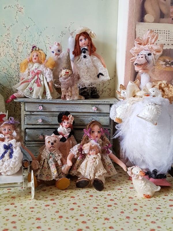Antique Look Dolls