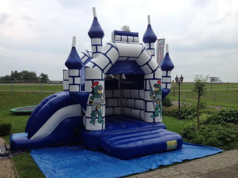 Springkussen ridder kasteel