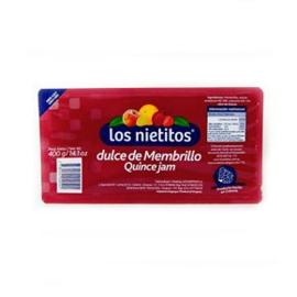 Dulce de Membrillo Los Nietitos (400g)