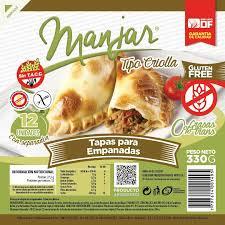 Tapas para Empanadas sin Gluten 1 Blister