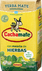 CACHAMATE HIERBAS 500G