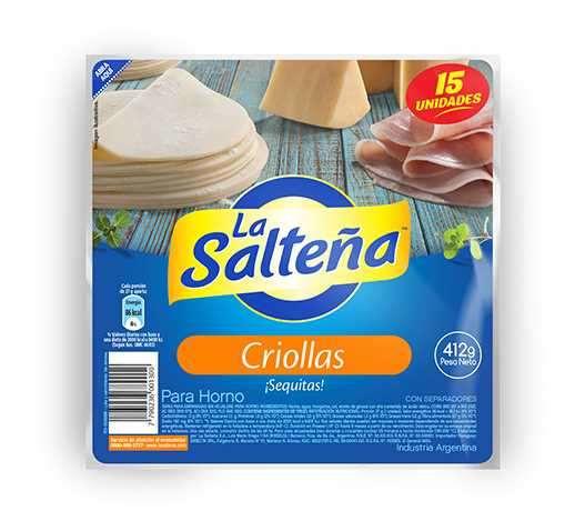Tapas Criollas (10 blister)