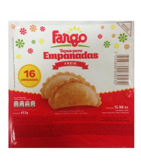 Tapas para Empanadas Freir FARGO 5 Blister