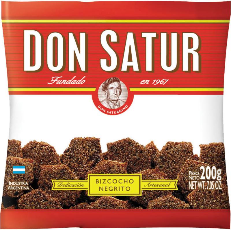 Don Satur Bizcochos Negritos