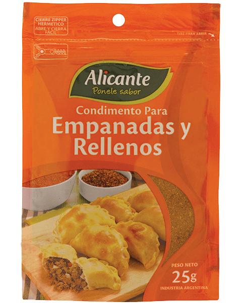Alicante Condimento para empanadas