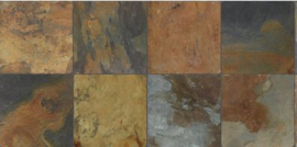 Ermes Aurelia Flagstone - Multi Color
