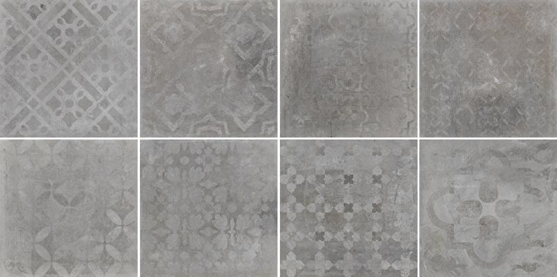 Sintesi Atelier - Grigio decorstuk 30x30 cm