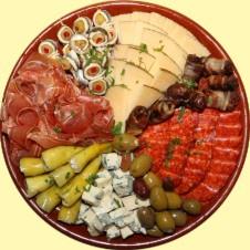 Schotel nr 9 - Vlees, kaas en hapjes B