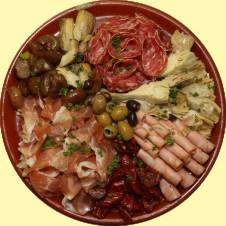 Schotel nr 4 - Vleeswaren en antipasti
