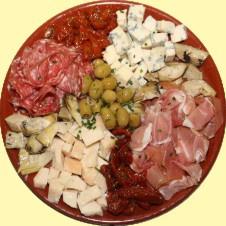 Schotel nr 6 - Kazen, vleeswaren en antipasti