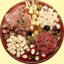 Schotel nr 8 - Vlees, kaas en hapje A