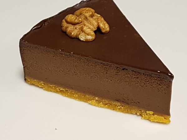 Puntje Chocolade truffeltaart