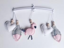Muziekmobiel Flamingo